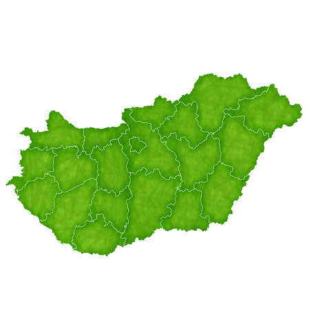 Hungary map Country icon