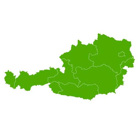 austria map: Austria map Country icon