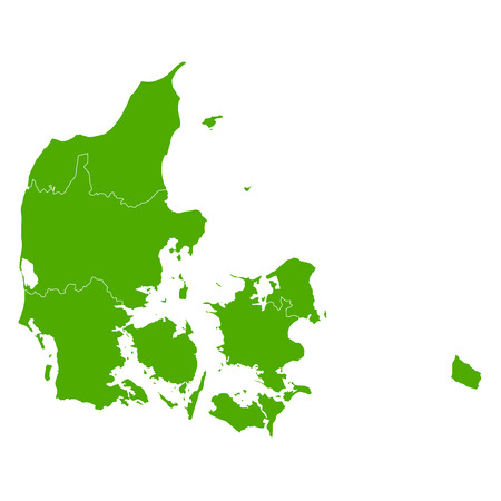 Denmark map Country icon