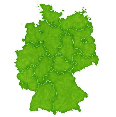 Deutschland-Karte Land-Symbol
