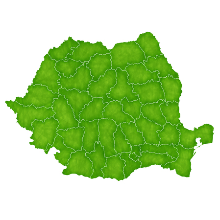 Romania map country icon