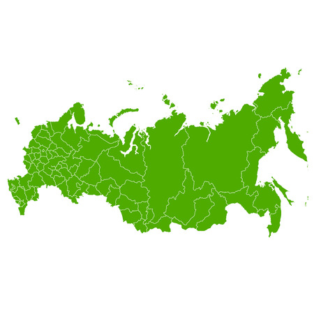 russia map: Russia map country icon Illustration