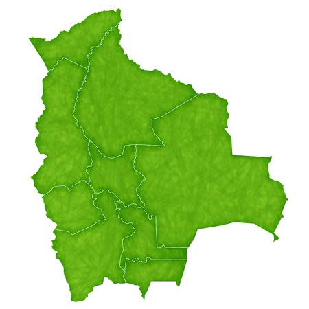 bolivia: Bolivia map Country icon Illustration
