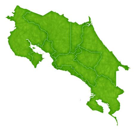 costa: Costa Rica map Country icon Illustration