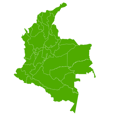 Colombia map Country icon