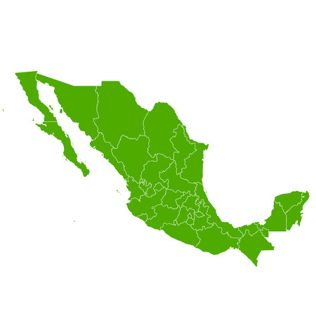 mexico map: Mexico map Country icon Illustration