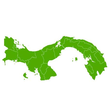 panama: Panama map Country icon