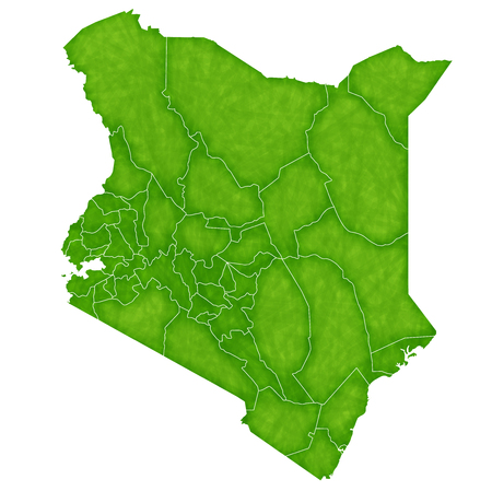 kenya: Kenya map country icon