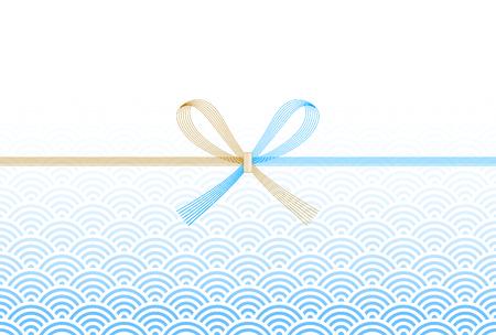 Noshi sea wave background