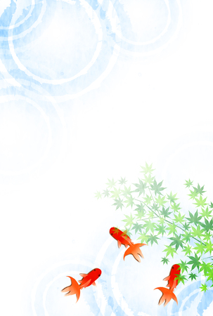 Goldfish Summer sympathy summer background