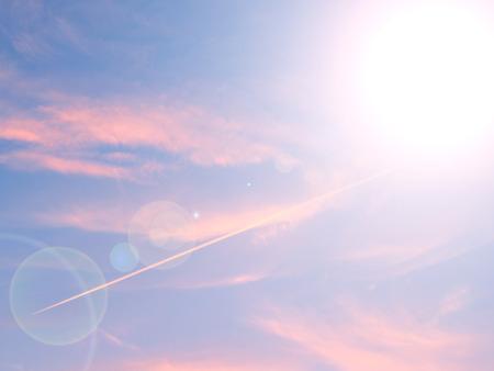 Sky sunset landscape background