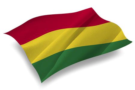 bolivia: Bolivia Country flag icon Illustration
