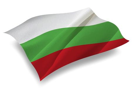 Bulgaria Country flag icon Illustration