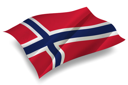 norway flag: Norway Country flag icon Illustration