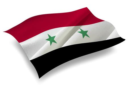 syria: Syria Country flag icon Illustration