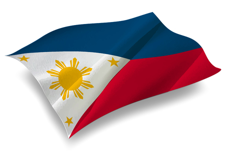 philippines: Philippines Country flag icon Illustration