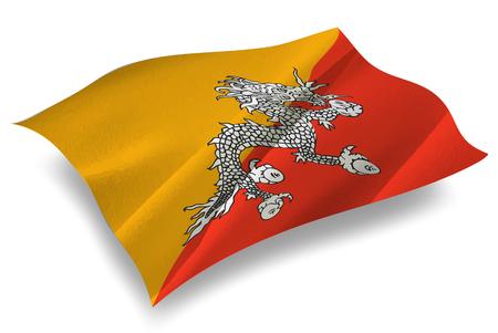 bhutan: Bhutan Country flag icon