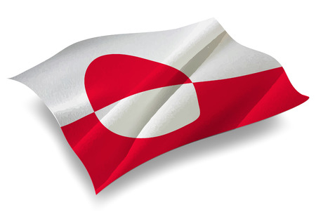 greenland: Greenland Country flag icon