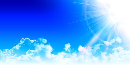 sky sun: Sky sun landscape background