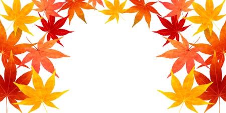 Herbstblätter fallen Blatt Hintergrund