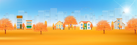 fall leaves: Autumn leaves fall family background