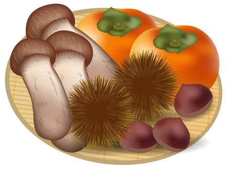 persimmon: Chestnuts Matsutake persimmon icon