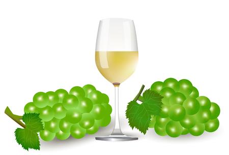ブドウのワイン秋の背景