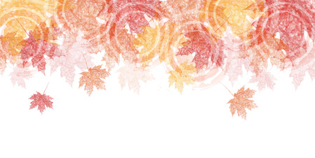 Autumn leaves herfst landschap achtergrond