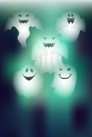 halloween background: Halloween Haunted night background