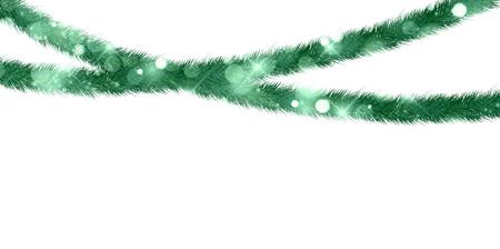 fir tree: Christmas fir tree landscape background