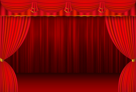 curtain background: Curtain stage curtain background