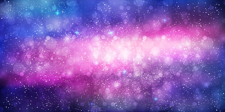 celestial: Planet celestial galaxy background