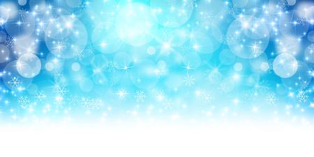 winter snow: Christmas snow winter background