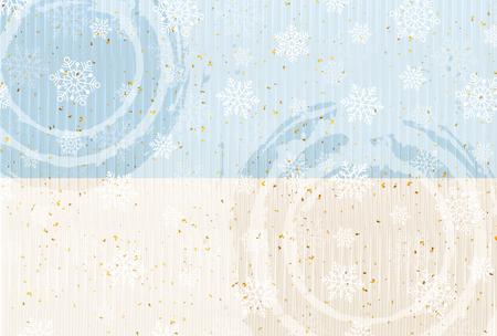 Fond de neige papier japonais de Noël