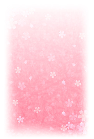 japanese paper: cherry Japanese paper New Year card background