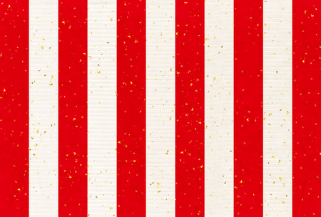 white curtain: Red and white curtain New Year background Illustration