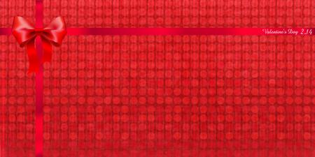 japanese paper: Valentine Ribbon Japanese paper background