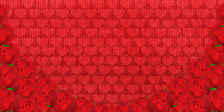 paper background: Valentine Roses Japanese paper background