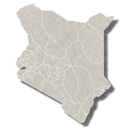 kenya: Kenya map city icon