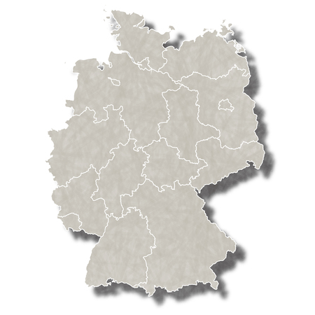 Germany map city icon
