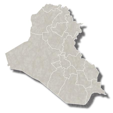 iraq: Iraq map city icon