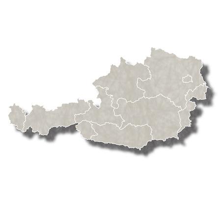 austria map: Austria map city icon
