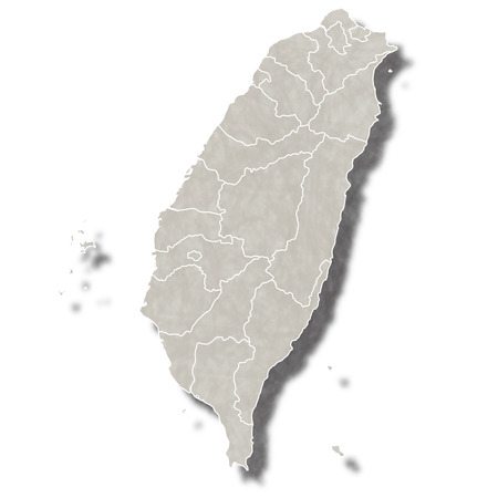Taiwan map city icon
