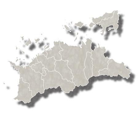 香川日本地図アイコン