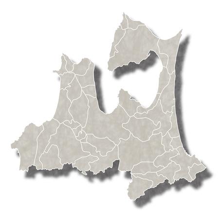 青森日本地図アイコン
