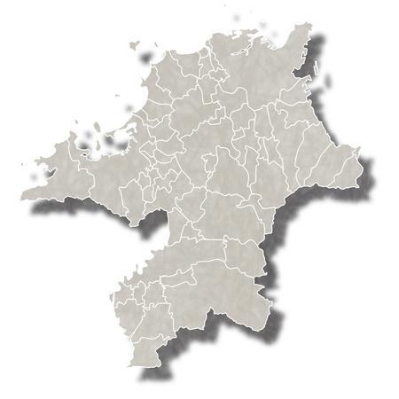 福岡日本地図アイコン