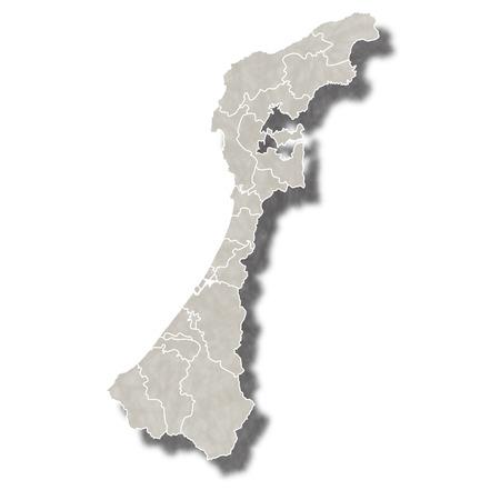 石川日本地図アイコン