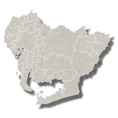 愛知日本地図アイコン