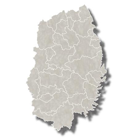 岩手日本地図アイコン