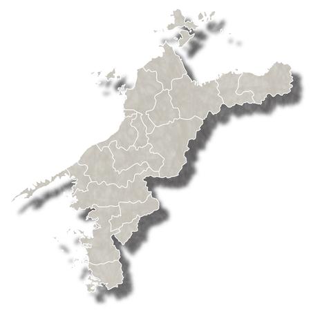 愛媛日本地図アイコン